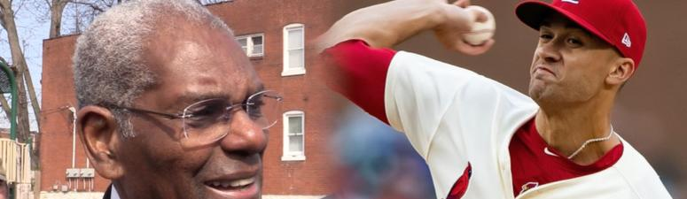 Jack Flaherty says it's a 'completely different animal' to talk to Bob Gibson