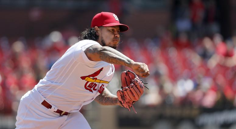 St. Louis Cardinals pitcher Carlos Martinez.