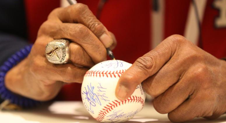 St. Louis Cardinals World Series ring.
