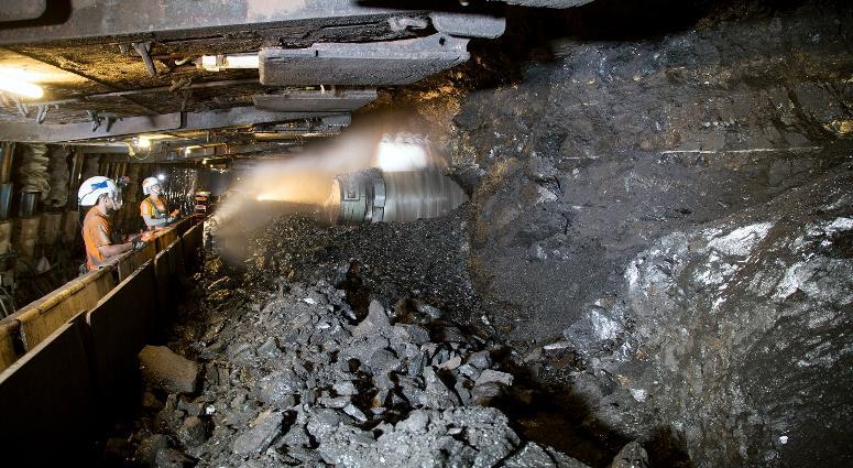 Peabody Energy Twentymile mine in Colorado