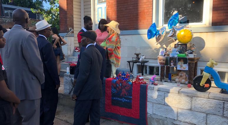 Vigil for Xavier Usanga