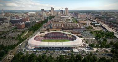 Preposed MLS Stadium in St. Louis