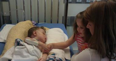 Jenn Hinkle's son, Ollie, died from a Congenital Heart Defect at 14-months old.