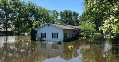 Flooding in Portage des Sioux