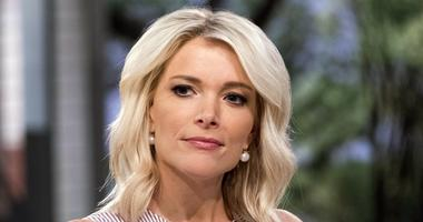 """This Sept. 21, 2017 file photo shows Megyn Kelly on the set of her show, """"Megyn Kelly Today"""" at NBC Studios in New York."""