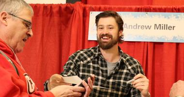 St. Louis Cardinals reliever Andrew Miller at Winter Warm-Up.
