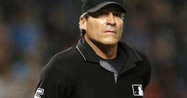 MLB umpire Angel Hernandez