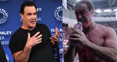 Patrick Warburton as David Puddy at New Jersey Devils game.