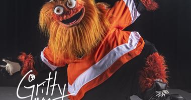 Gritty, the new mascot of the Philadelphia Flyers.