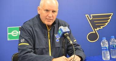 St. Louis Blues GM/President of hockey operations Doug Armstrong.