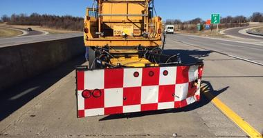 MoDOT truck crash