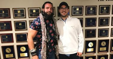 WWE Superstar Elias at KMOX with our Alex Ferrario.