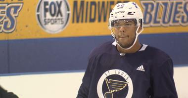 St. Louis Blues prospect Erik Foley.