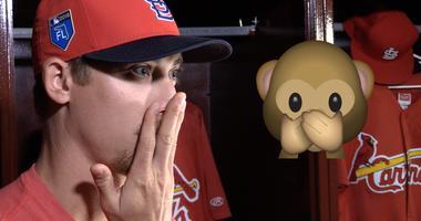 St. Louis Cardinals pitcher Luke Weaver on his favorite emoji.