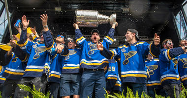 St. Louis Blues reveal new 2020 NHL All-Star logo