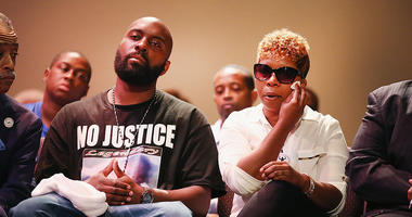 Michael Brown Sr. and Lesley McSpadden