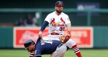 St. Louis Cardinals second baseman Greg Garcia