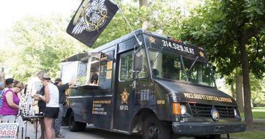 Guerrilla Street Food truck.