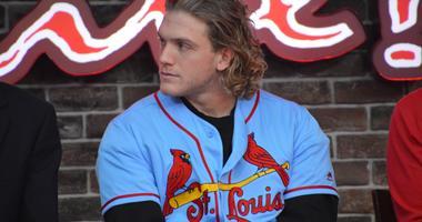 St. Louis Cardinals center fielder Harrison Bader