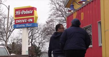 Hi-Pointe Drive-In on McCausland Ave. in St. Louis.