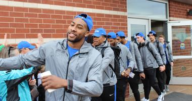 March Madness bound: Billikens en route to NCAA Tournament First Round game