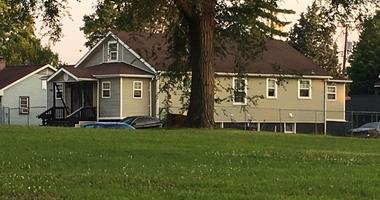 Home where person of interest was holed up for hours.