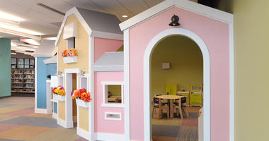 playhouse at Meramec Valley Library