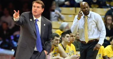 Saint Louis and Mizzou men's basketball coaches Travis Ford and Cuonzo Martin.