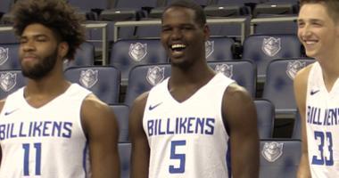Saint Louis University men's basketball team.