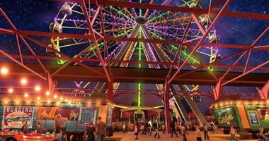 The St. Louis Wheel rendering