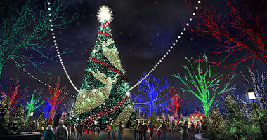 New Christmas Tree coming to Silver Dollar City in 2019.