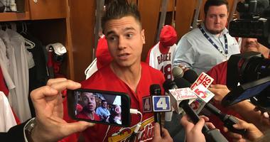 St. Louis Cardinals outfielder Tyler O'Neill.