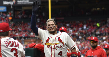 St. Louis Cardinals catcher Yadier Molina