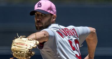 St. Louis Cardinals starting pitcher Adam Wainwright.
