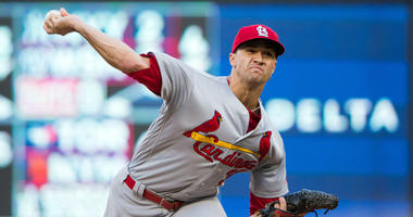 St Louis Cardinals starting pitcher Jack Flaherty.