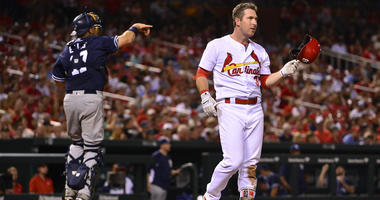 St. Louis Cardinals second baseman Jedd Gyorko