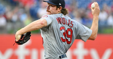 St. Louis Cardinals pitcher Miles Mikolas