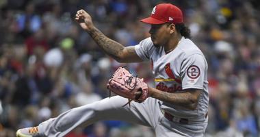 St. Louis Cardinals pitcher Carlos Martinez