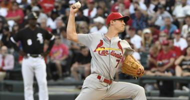 St. Louis Cardinals pitcher Luke Weaver.