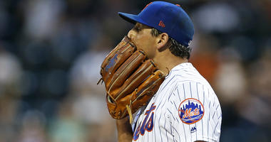New York Mets starting pitcher Jason Vargas