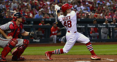 St. Louis Cardinals center fielder Harrison Bader