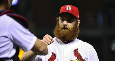 St. Louis Cardinals pitcher John Brebbia.