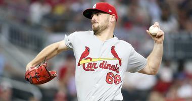 St. Louis Cardinals starting pitcher Austin Gomber