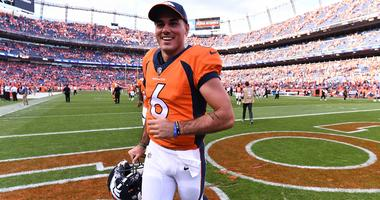Denver Broncos quarterback Chad Kelly