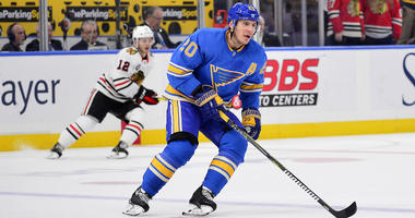 St. Louis Blues left wing Alexander Steen