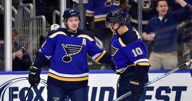 Tarasenko involved in every goal as Blues beat NHL-leading Avalanche 3-1
