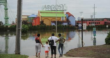 Argosy Casino in Alton, Illinois flooded in June 2019