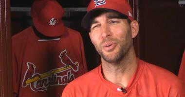 St. Louis Cardinals pitcher Adam Wainwright
