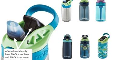 Recalled Contigo kids' water bottles