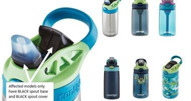 Recalled Contigo kids' water bottles